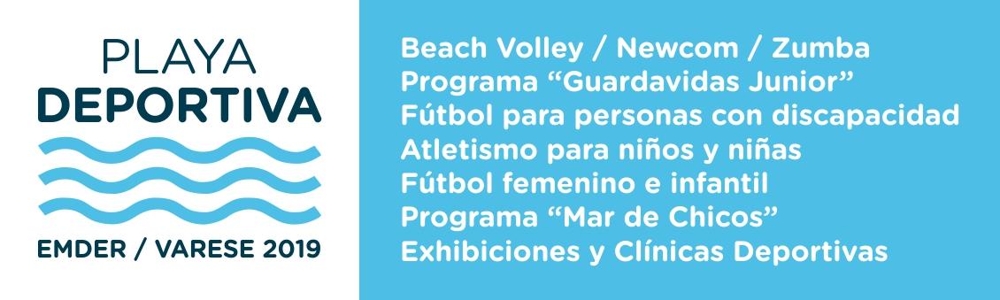 Playa Deportiva 2019 - EMDER