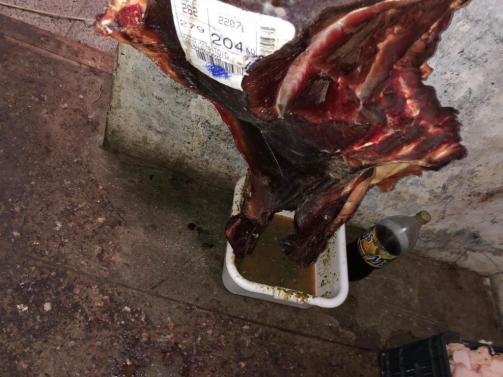 La Municipalidad clausuró una carnicería por cuestiones de salubridad